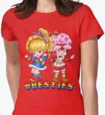 Besties Womens Fitted T-Shirt