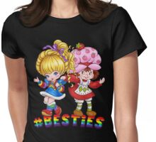 Besties Womens Fitted T-Shirt