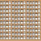 Funny faces by goanna
