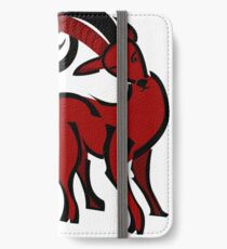 Chinese Zodiac Goat Sign iPhone Wallet/Case/Skin