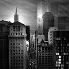 Financial District View, San Francisco by Richard Mason
