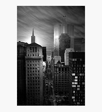 Financial District View, San Francisco Photographic Print
