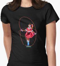 Skipping Girl Neon Clothing T-Shirt