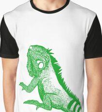 IGUANA t-shirt Graphic T-Shirt