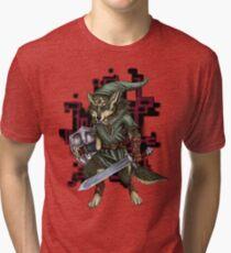 Link Wolf Tri-blend T-Shirt