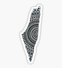 Original Israel Mandala  Sticker