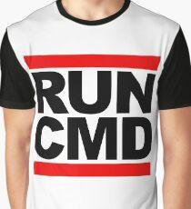 RUN CMD - black version Graphic T-Shirt