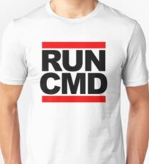 RUN CMD - black version T-Shirt