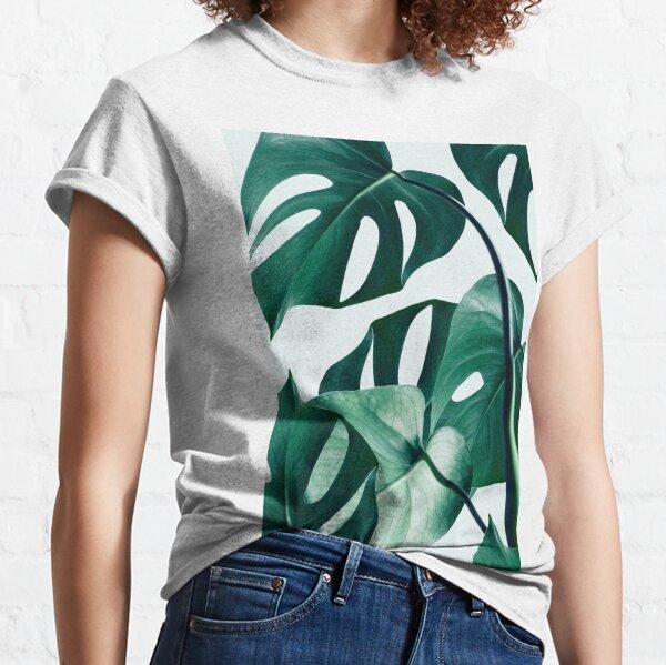 Monstera #redbubble #artprints Classic T-Shirt