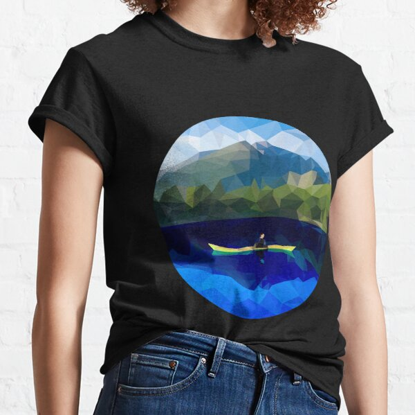 Mountain Kayaking Classic T-Shirt