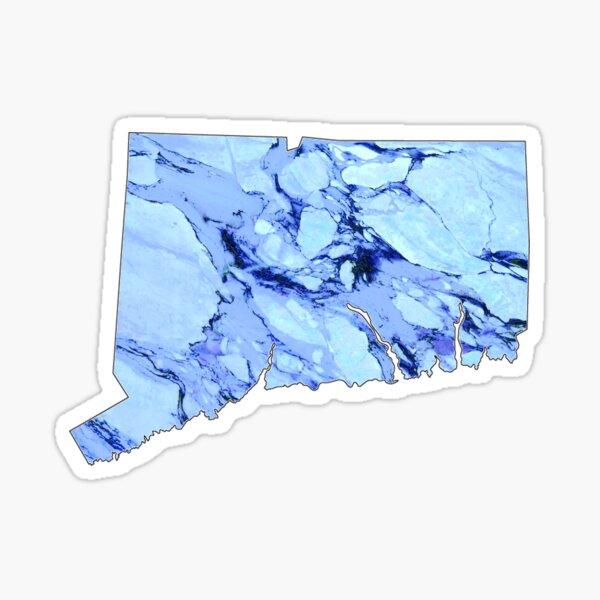 Marble Connecticut Sticker