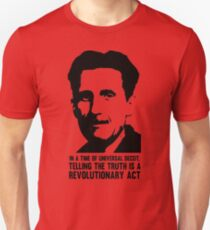 Truth is Revolutionary - George Orwell T-Shirt