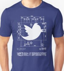 Tweetie Bird Architectural Dimensions T-Shirt
