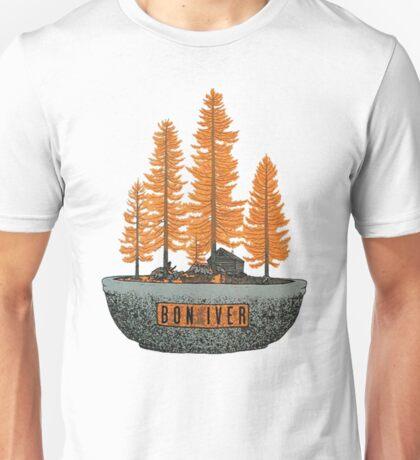 Bon Iver tour Tee Unisex T-Shirt
