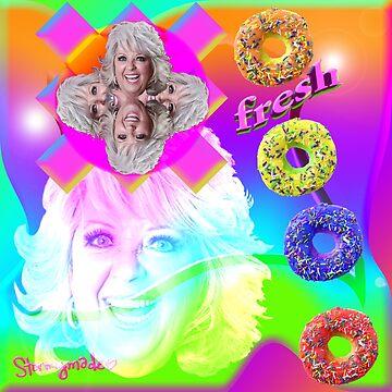 Ve nueces con donuts frescos de Paula de STORMYMADE