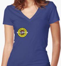 CBH shirt Women's Fitted V-Neck T-Shirt