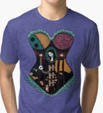 Ragdoll Corset Tri-blend T-Shirt