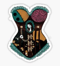Ragdoll Corset Sticker