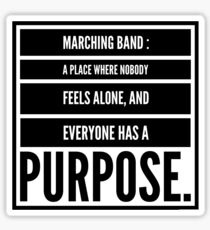 The Importance of a Marching Band  Sticker