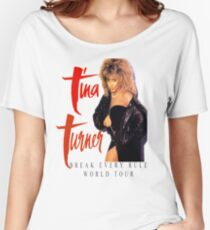 Tina Turner - World Tour - Reproduction Concert Tee 1987 Women's Relaxed Fit T-Shirt