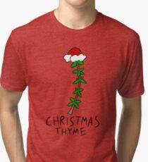 Christmas Thyme Tri-blend T-Shirt