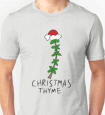Christmas Thyme Slim Fit T-Shirt