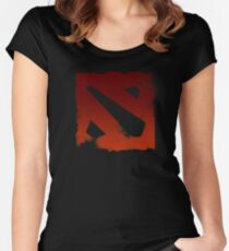DotA 2 Dirt Women's Fitted Scoop T-Shirt