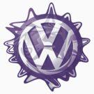 Purple VW look-a-like Swirl by melodyart