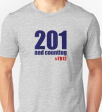 201 and counting Unisex T-Shirt