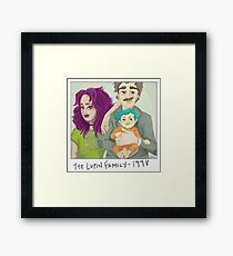 The Lupin Family Framed Print