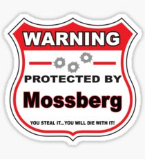 Mossberg Protected by Mossberg Shield Sticker