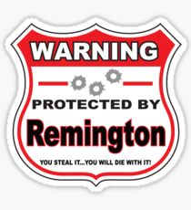 Remington Protected by Remington Sticker