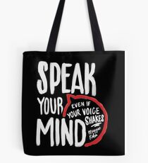 Speak Your Mind - Planned Parenthood Tote Bag