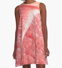 Fresh red meat A-Line Dress