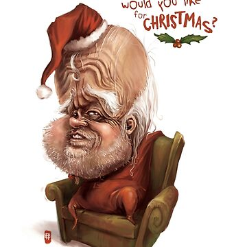 """Santa - """"And what would you like for Christmas?"""" by TristanTait"""