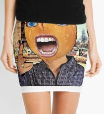Peanut Head Mini Skirt