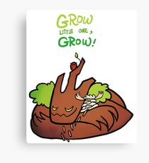 Smite - Grow (Chibi) Canvas Print