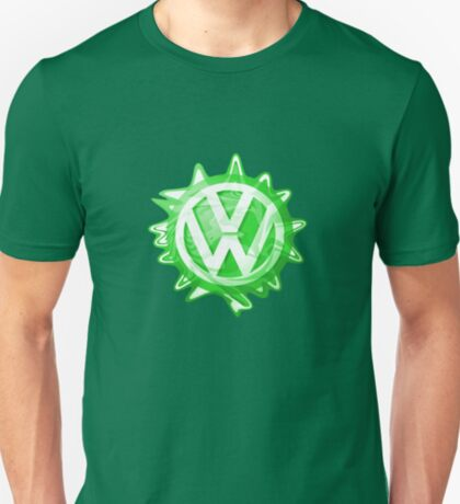 Green VW look-a-like Swirl T-Shirt