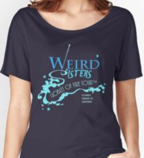 The Weird Sisters Goblet of Fire Tour '94 blue Women's Relaxed Fit T-Shirt