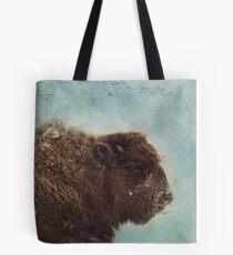 Wood Buffalo Tote Bag