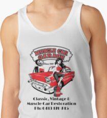 Lous Muscle Car Garage Tank Top