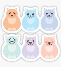 Matryoshka Cats Sticker