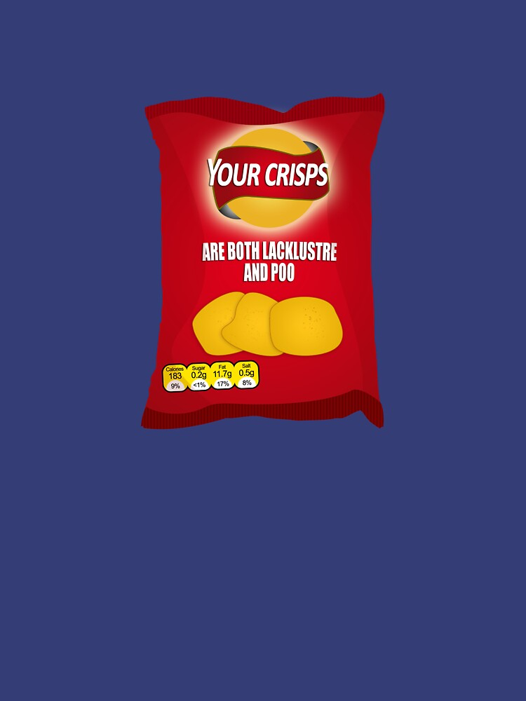 Your Crisps Are Both Lacklustre and Poo by brianftang
