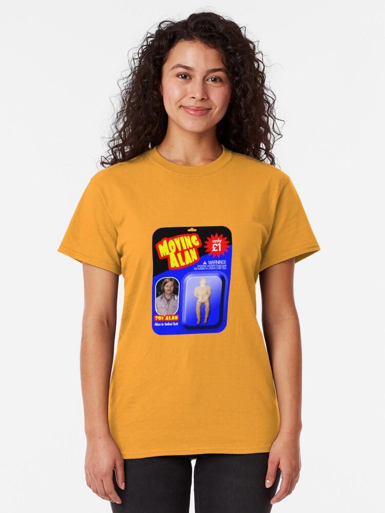 Alternate view of Moving Alan. 70s Alan Classic T-Shirt