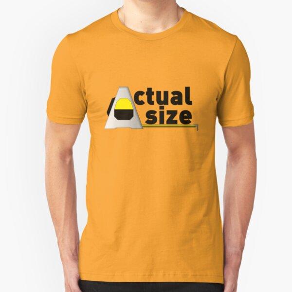 Actual Size Slim Fit T-Shirt