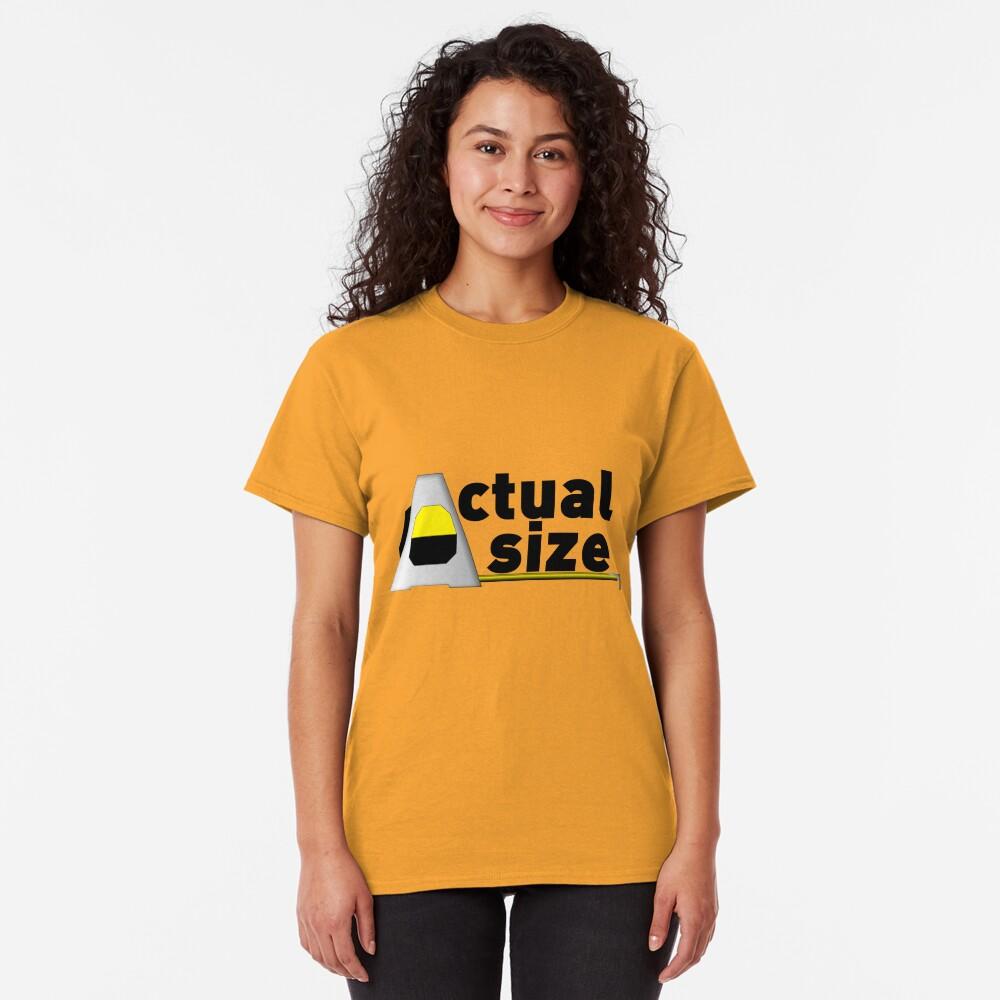 Actual Size Classic T-Shirt