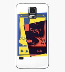 Vintage Vinyl Turntable Case/Skin for Samsung Galaxy