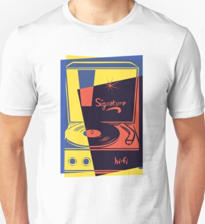 Vintage Vinyl Turntable T-Shirt