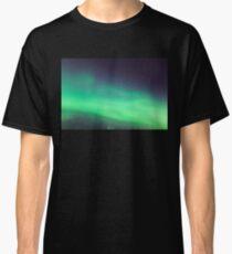 Nordlichternahaufnahme Classic T-Shirt