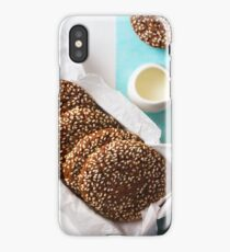 Fresh Chocolate Crispy Cookies with Sesame iPhone Case